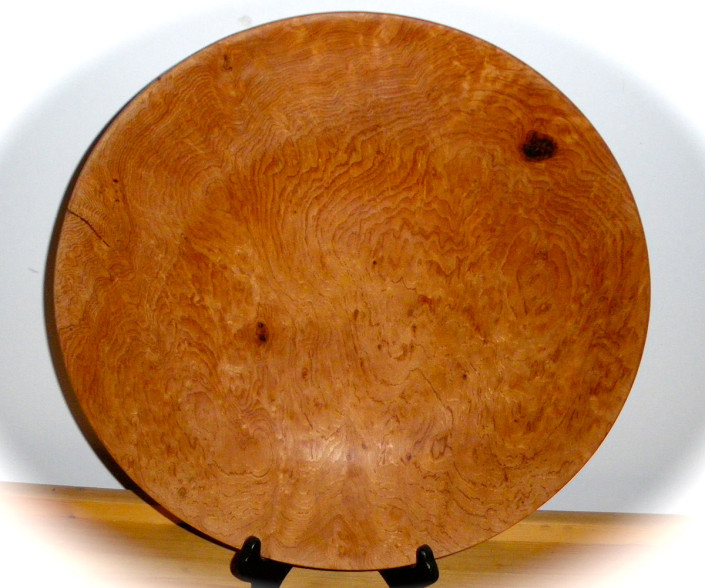 Birdseye Maple Platter