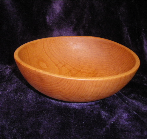 Hand Turned Arbutus Bowl